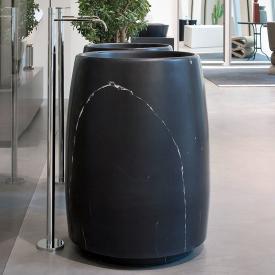 antoniolupi BARREL bodenstehender Waschtisch schwarz marquina