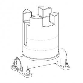 antoniolupi BIKAPPA Unterputz-Grundkörper für bodenstehende Waschtischarmaturen