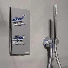 antoniolupi BIKAPPA Unterputz-Thermostat mit Umsteller chrom