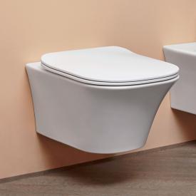antoniolupi CABO Wand-Tiefspül-WC mit WC-Sitz Flat weiß matt