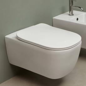 antoniolupi KOMODO Wand-Tiefspül-WC mit WC-Sitz Flat weiß satiniert