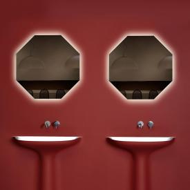antoniolupi MODULO Achteck-Spiegel mit LED-Beleuchtung