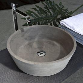 antoniolupi PILA Aufsatzwaschtisch pietra vesuvio