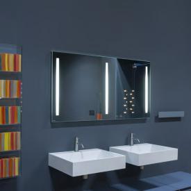 antoniolupi SPIO250 Spiegel mit polierter Kante und weißer LED-Beleuchtung Breite 90 cm