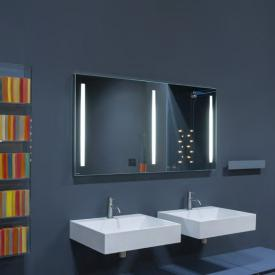 antoniolupi SPIO275 Spiegel mit polierter Kante und weißer LED-Beleuchtung Breite 90 cm