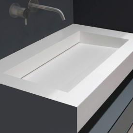 antoniolupi umblendetes Top mit integriertem MYSLOT Becken weiß
