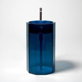 antoniolupi VITREO bodenstehender Waschtisch cobalto