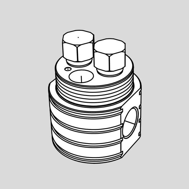 antoniolupi INDIGO Unterputz-Grundkörper für bodenstehende Waschtischarmaturen