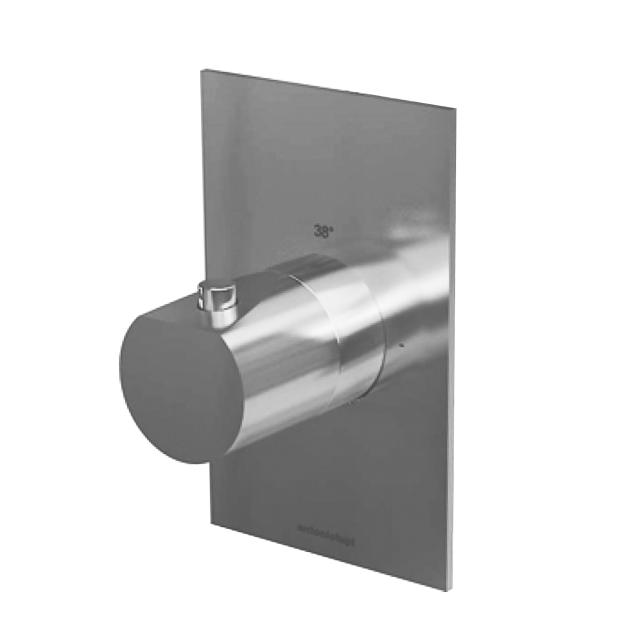 antoniolupi INDIGO Unterputz Thermostat chrom