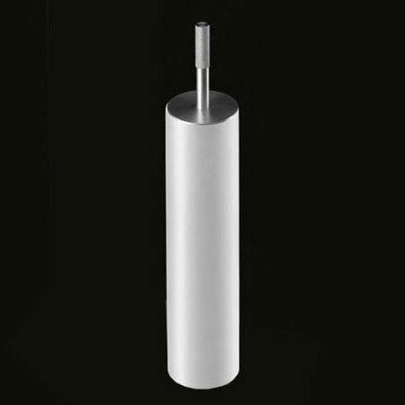 antoniolupi JUST bodenstehender WC-Bürstenhalter weiß matt