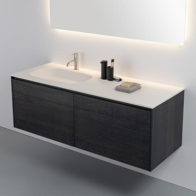 antoniolupi NUVOLA Top mit PIANA Waschtischunterschrank mit 2 Auszügen
