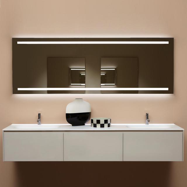 antoniolupi SPIO Spiegel mit LED-Beleuchtung