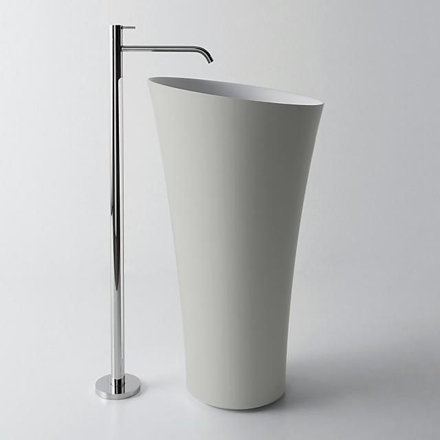 antoniolupi TUBA bodenstehender Waschtisch cemento matt/weiß matt