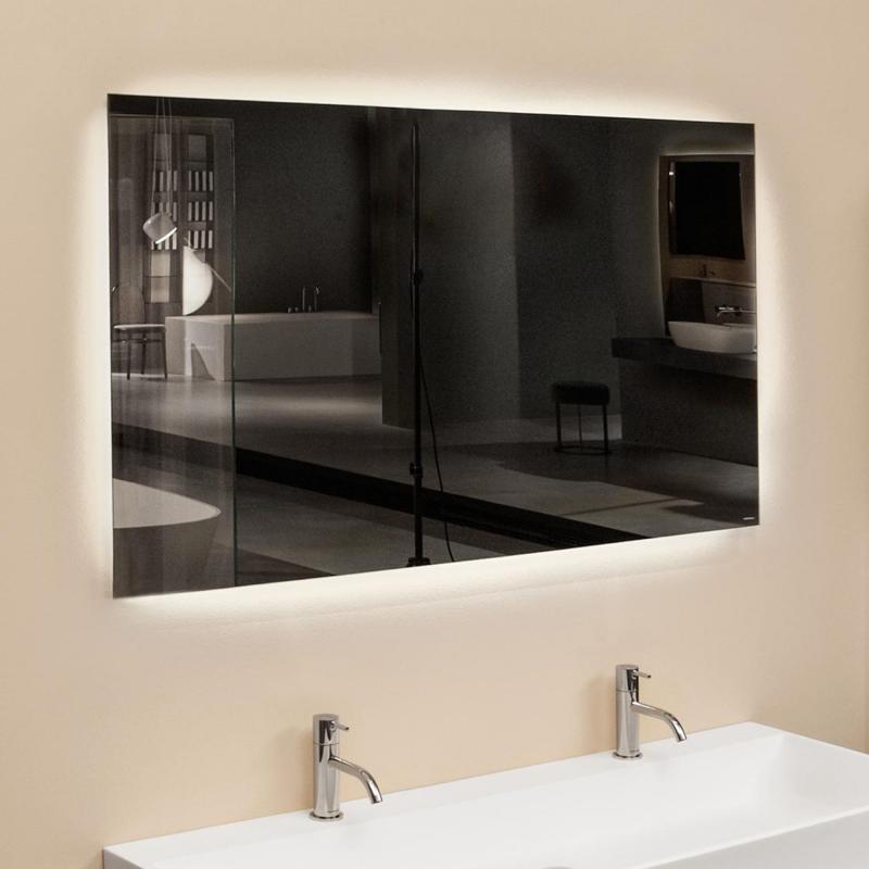 antoniolupi vario spiegel mit led beleuchtung. Black Bedroom Furniture Sets. Home Design Ideas