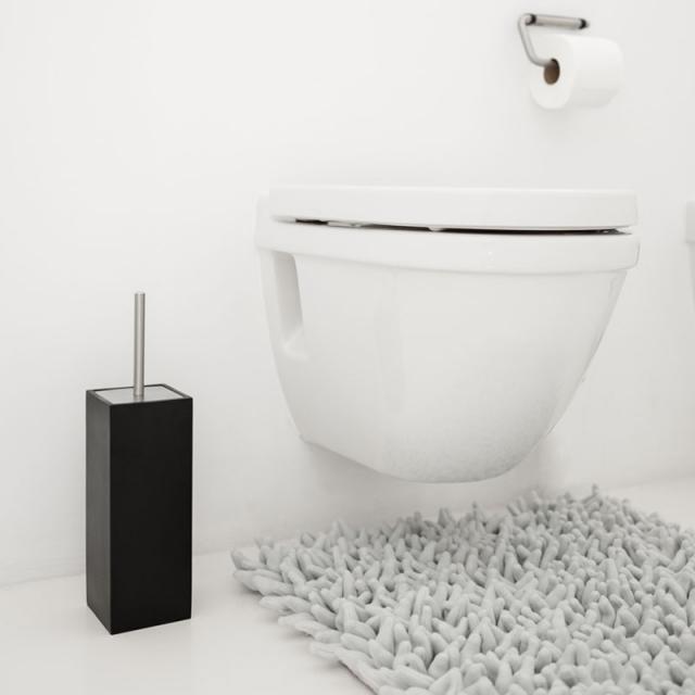 Aquanova MOON WC-Bürstenhalter schwarz
