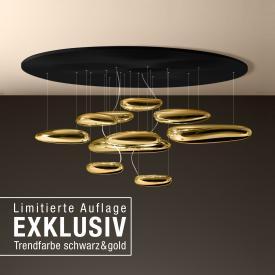 Artemide Mercury Soffitto Inox LED Deckenleuchte