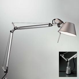 Artemide Tolomeo Mini LED Tischleuchte mit Bewegungsmelder, Dimmer und Schraubbefestigung