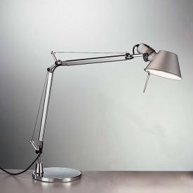 Artemide Tolomeo Mini LED Tischleuchte mit Tischfuß und Dimmer