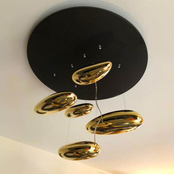 Artemide Mercury Mini Soffitto Inox LED Deckenleuchte