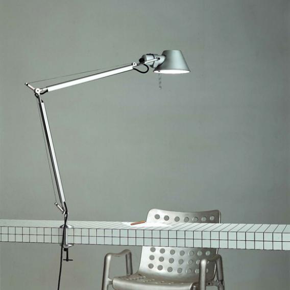 Artemide Tolomeo Morsetto LED Klemmleuchte mit Bewegungsmelder und Dimmer