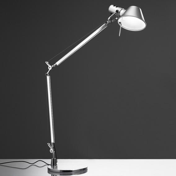 Artemide Tolomeo LED TW Tischleuchte mit Tischfuß und Dimmer