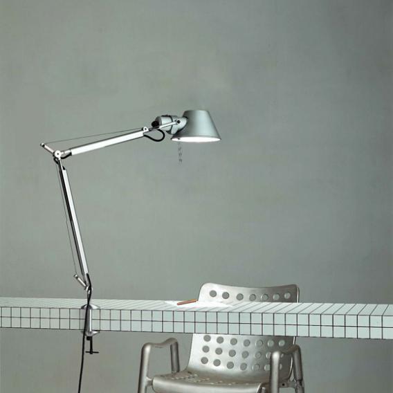 Artemide Tolomeo Mini LED Klemmleuchte mit Dimmer