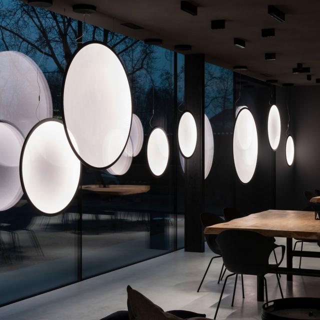Artemide Discovery Vertical LED Pendelleuchte mit App Steuerung