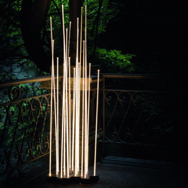 Artemide Reeds LED Bodenleuchte Triple IP67