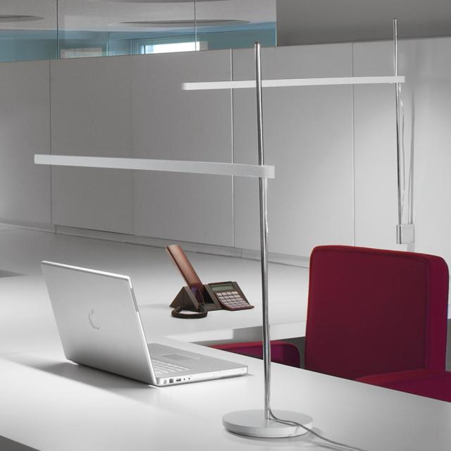 Artemide Talak Professional Table LED Tischleuchte mit Fuß und Dimmer