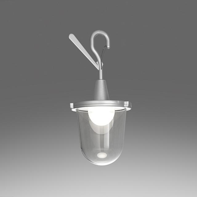 Artemide Tolomeo Lampione Outdoor LED Pendelleuchte mit Haken