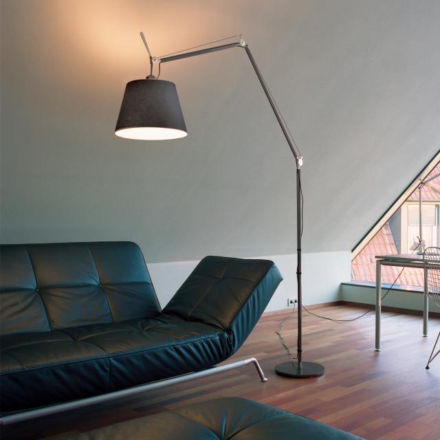 Artemide Tolomeo Mega Terra LED Stehleuchte mit Dimmer