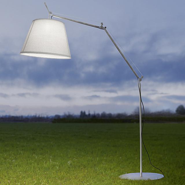 Artemide Tolomeo Paralume Outdoor Terra LED Stehleuchte