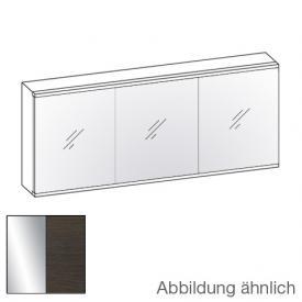 Artiqua Evolution 211 LED Spiegelschrank Front verspiegelt / Korpus mokka struktur