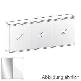 Artiqua Evolution 211 LED Spiegelschrank Front verspiegelt / Korpus weiß glanz