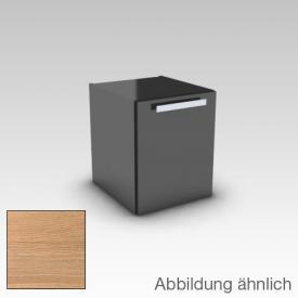 Artiqua 211 Seitenschrank mit 1 Tür Front natur struktur / Korpus natur struktur