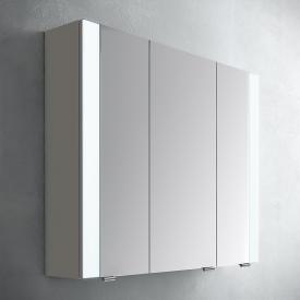 Artiqua 400 LED Spiegelschrank Front verspiegelt / Korpus quarzgrau matt