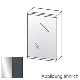 Artiqua Universal LED-Spiegelschrank Front verspiegelt / Korpus anthrazit glanz