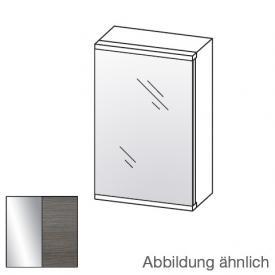Artiqua Universal LED-Spiegelschrank Front verspiegelt / Korpus graphit struktur