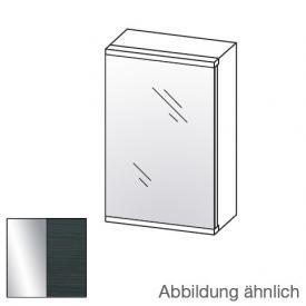 Artiqua Universal LED-Spiegelschrank Front verspiegelt / Korpus hacienda schwarz