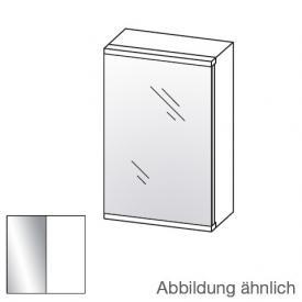Artiqua 400 LED-Spiegelschrank mit 1 Tür Front verspiegelt / Korpus weiß glanz