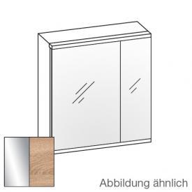 Artiqua Universal LED Spiegelschrank Front verspiegelt / Korpus castello eiche