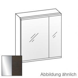 Artiqua Universal LED Spiegelschrank Front verspiegelt / Korpus mokka struktur