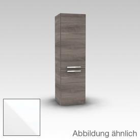 Artiqua 400 Midischrank mit 2 Türen Front weiß hochglanz / Korpus weiß glanz