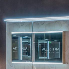 Artiqua LED-Waschplatzbeleuchtung für Spiegelschränke B: 65 cm