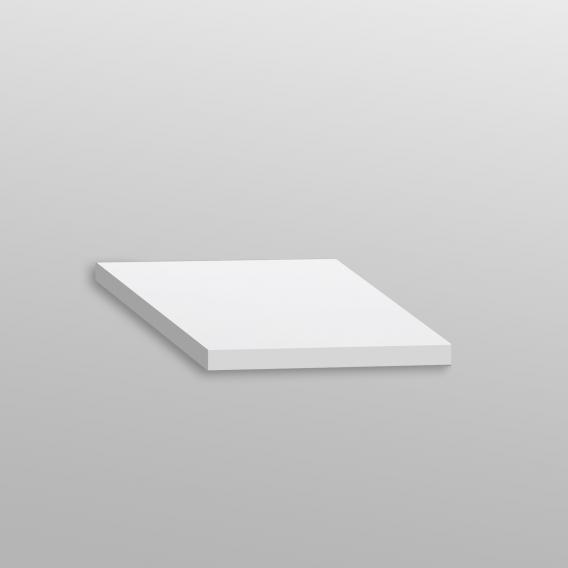 Artiqua 400 Abdeckplatte Dekor weiß glanz