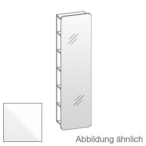 Artiqua 400 Spiegelregal Front verspiegelt / Korpus weiß glanz