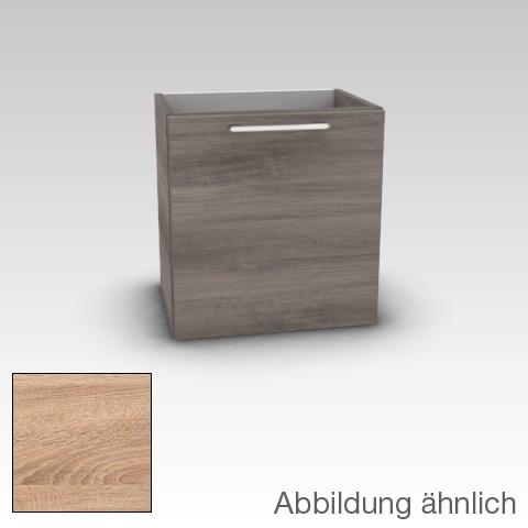 Artiqua 413 Handwaschbeckenunterschrank mit 1 Tür Front castello eiche / Korpus castello eiche