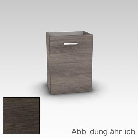 Artiqua 415 Handwaschbeckenunterschrank mit 1 Tür Front mokka struktur / Korpus mokka struktur