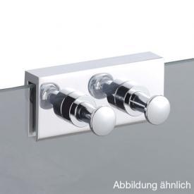 Avenarius Hakenleiste 2-fach für Duschabtrennung