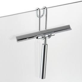 Avenarius Universal Halter für Duschabtrennung, mit Komfortwischer
